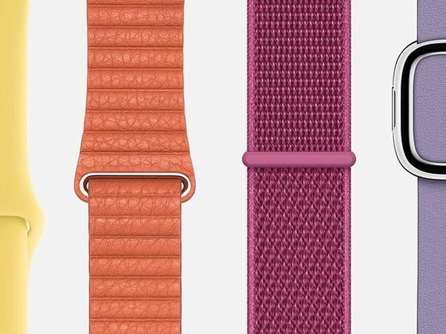 Apple Watch : de nouveaux bracelets en approche