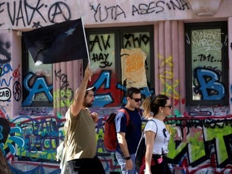 A Santiago, une visite guidée au coeur de la révolte chilienne