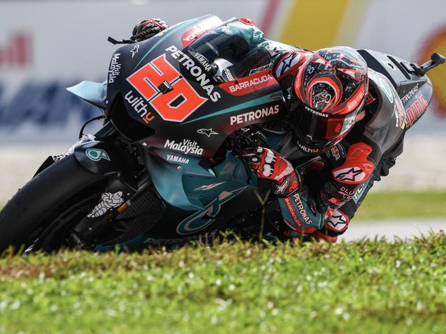 MotoGP: Quartararo reste le plus rapide en Malaisie, Bagnaia et Zarco en Q2