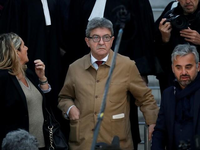 Perquisition à LFI: Mélenchon condamné à trois mois avec sursis