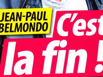 Jean-Paul Belmondo, graves ennuis, la fin, la photo qui en dit long