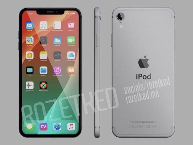Et si l'iPod Touch 7G ressemblait à ça ?