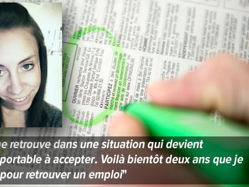 """Pauline, 27 ans, cherche un boulot depuis deux ans: """"Il y a des jours où je me sens complètement nulle"""""""