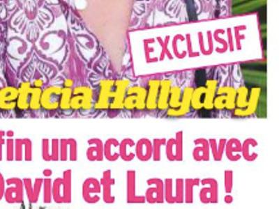 Laeticia Hallyday, réunion de crise, enfin accord avec Laura et David (photo)