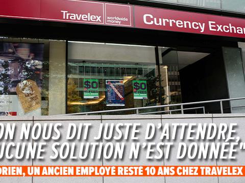 """Travelex en faillite: """"On est pris en otage dans ce processus"""", dénonce Adrien qui ne perçoit plus de chômage"""