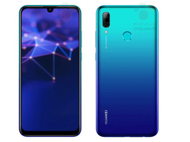Huawei P Smart 2019 : Les caractéristiques et le design fuitent avant la présentation officielle