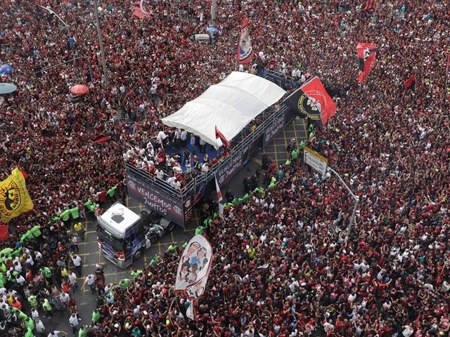 Flamengo, sacré champion... sans jouer