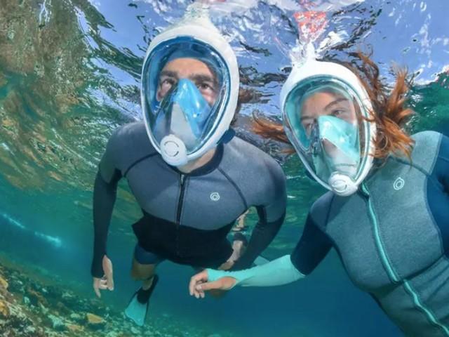 Les masques Easybreath de Decathlon retirés de la vente pour être donnés aux soignants