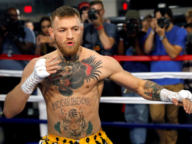 la conférence de presse qui passe mal pour Conor McGregor