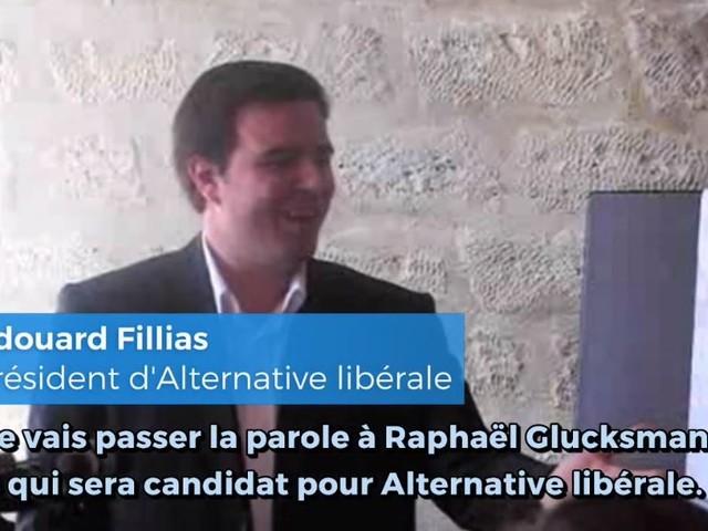 Raphaël Glucksmann, ancien candidat déclaré d'Alternative Libérale