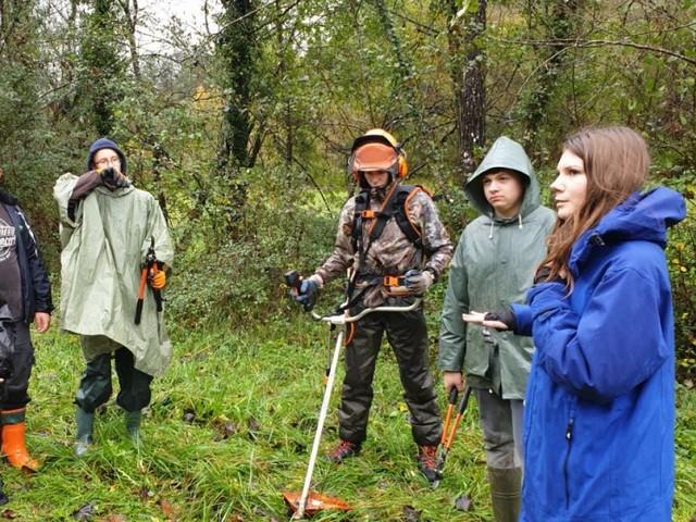 Un atelier en forêt ou comment aménager un espace naturel