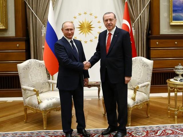Poutine et Erdogan veulent renforcer leur coopération sur la Syrie