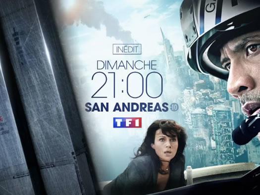 « San Andreas » : le film porté par Dwayne Johnson est ce soir sur TF1 (vidéo)