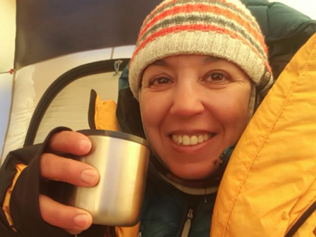 """Bouchra Baibanou: """"Je suis très heureuse d'avoir pu réaliser ce rêve de gravir les sept sommets du monde"""""""