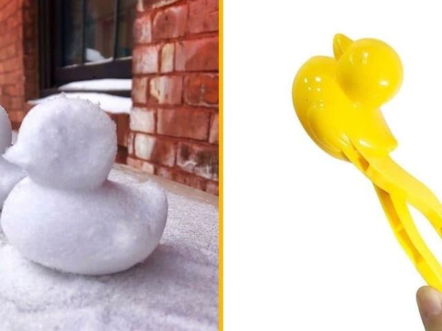 [TOPITRUC] Une pince pour faire des boules de neige en forme de canard