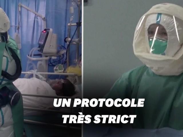 Face au coronavirus, les hôpitaux en Chine prennent des précautions extrêmes
