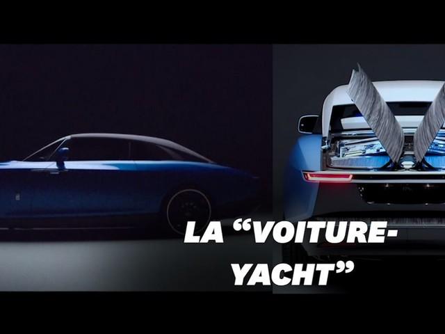 """Voici la Rolls-Royce """"Boat Tail"""", voiture la plus chère du monde"""