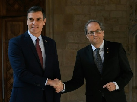 Sanchez annonce des négociations avec les indépendantistes