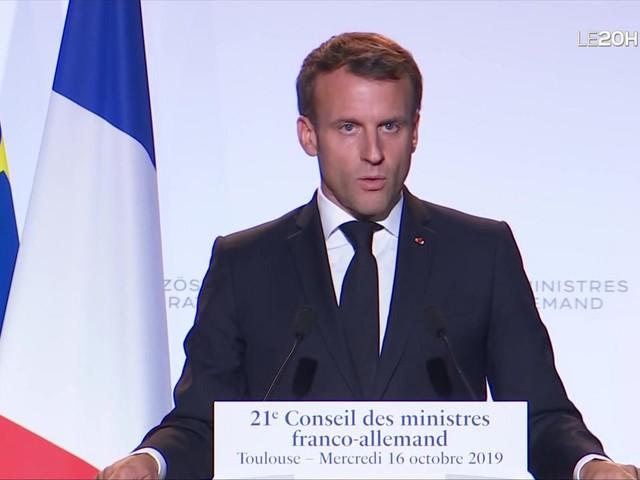 """Emmanuel Macron : """"Œuvrons pour que la République soit partout et être intraitables avec le communautarisme, mais ne stigmatisons pas nos concitoyens"""""""