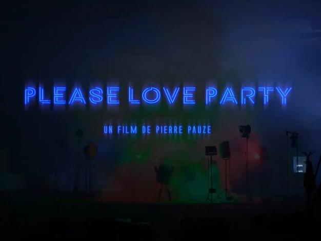 """Le plasticien Pierre Pauze pour sa vidéo et l'installation """"Please Love Party"""""""