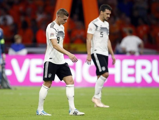 Foot - L. nations - L'Allemagne tombe lourdement aux Pays-Bas