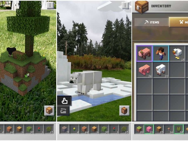 Le jeu en réalité augmentée Minecraft Earth est enfin disponible (dans certains pays)