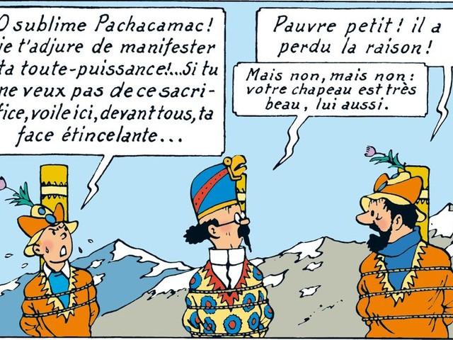 Les Aventures de Tintin : le Temple du soleil (5/5) : L'éclipse