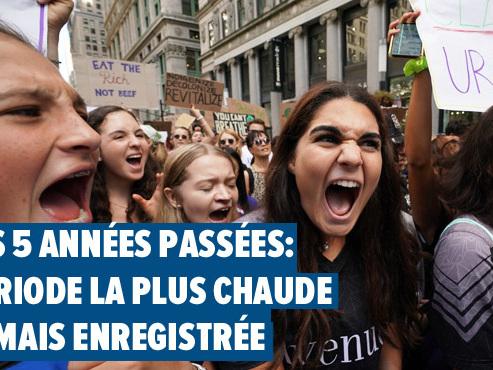 Sommet climat à l'ONU: les dirigeants mondiaux sous pression de la jeunesse