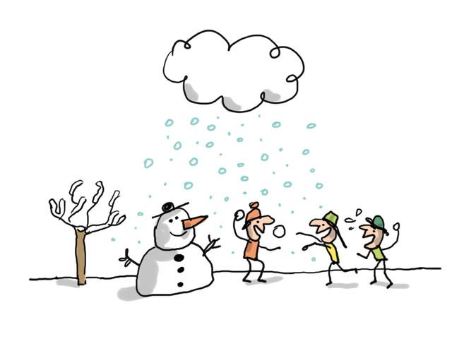 Comment la neige se forme-t-elle ?