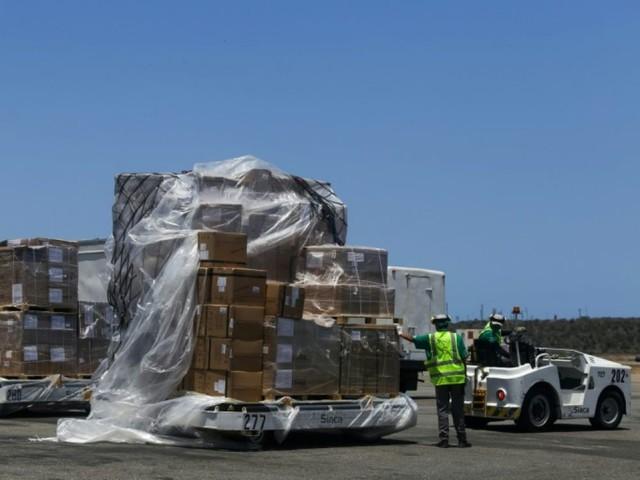 Coronavirus: le Venezuela reçoit 55 tonnes d'aide envoyées par la Chine