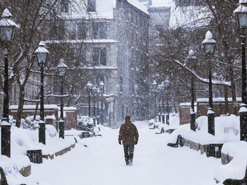 """Même au pays de la neige, la météo empêche la """"Fête des neiges"""" d'avoir lieu!"""