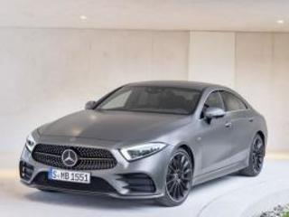 La Mercedes CLS est identifiable à sa silhouette fluide aux lignes épurées
