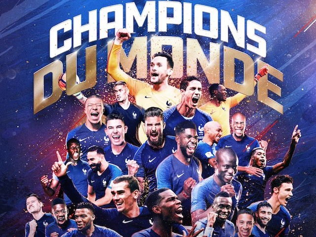 La France remporte la Coupe du Monde 2018 (VIDEO)