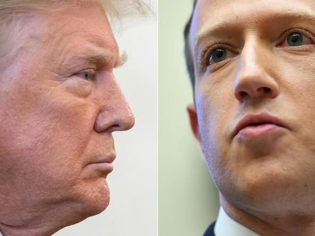 La suspension de Donald Trump revient en mode boomerang contre Facebook