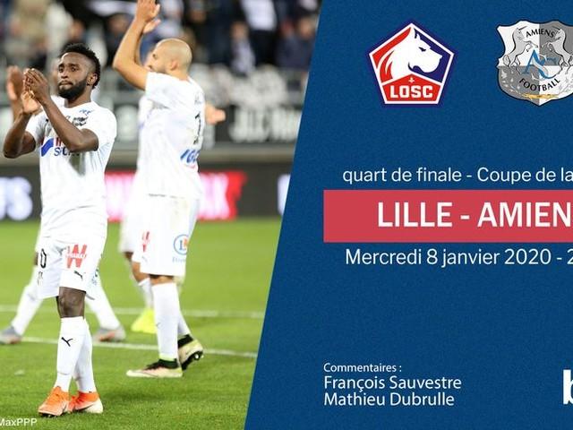 Coupe de la Ligue - direct : suivez le quart de finale entre Lille et Amiens