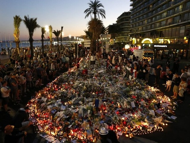 Nice commémore les 5 ans de l'attentat du 14-Juillet