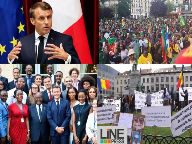 Rencontre avec MACRON: la diaspora africaine militante indésirable à l'Elysée. Du raté!