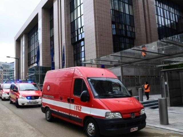 Bruxelles: 15 personnes intoxiquées dans un bâtiment de l'UE