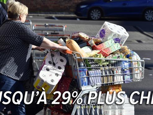 Coronavirus en Belgique: voici l'explication de la hausse de certains prix dans les supermarchés