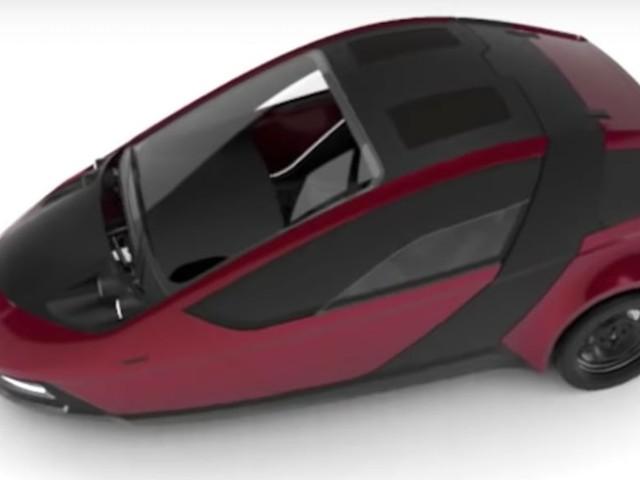 Découvrez la Twike 5, une voiture électrique à trois roues que vous pouvez recharger en pédalant