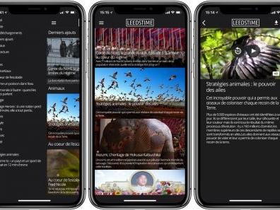 App Leedstime : des documentaires courts et gratuits à découvrir en vidéo sur son iPhone et iPad (même hors ligne !)