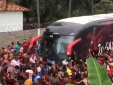 Vidéo : la folle ambiance à Flamengo avant la finale de Copa Libertadores