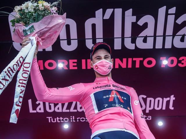 Cyclisme - Giro - Tour d'Italie: Ganna fonce en Sicile vers le premier maillot rose