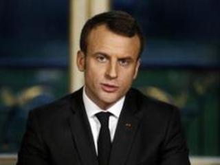 """France: Macron veut """"faire vivre"""" la """"renaissance française"""" en 2018"""