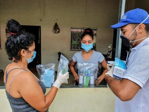 Face au virus en Colombie, d'ex-rebelles mettent à profit leur expérience