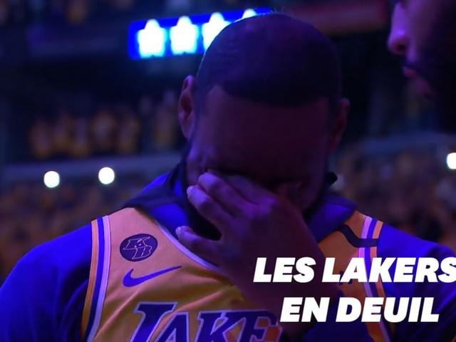 """Kobe Bryant, célébré par toute la """"Lakers Nation"""" au Staples Center"""