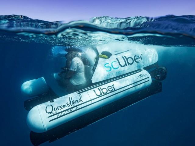 Le Queensland fait plonger les touristes à bord du sous-marin d'Uber