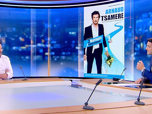 """""""J'ai pris quelques petites claques"""": Arnaud Tsamère parle de ses divorces, du cancer de son père et de sa nouvelle passion inattendue"""