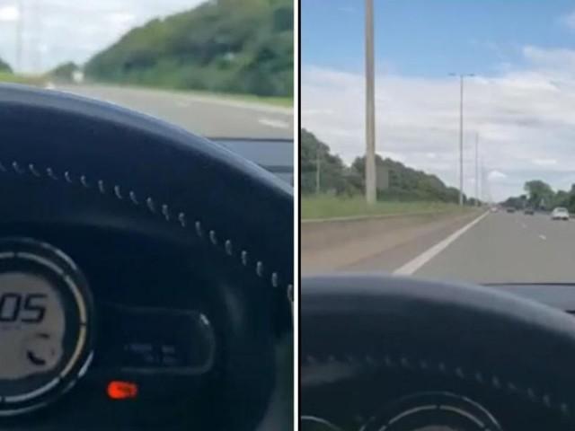 Un Liégeois se filme à 205 km/h sur la E42 entre Namur et Liège: «Tu n'auras pas toujours un ange gardien au-dessus de toi»