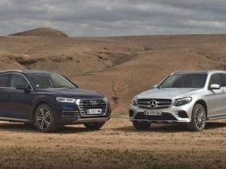 Comparatif : l'Audi Q5 affronte le Mercedes GLC, le choc des titans